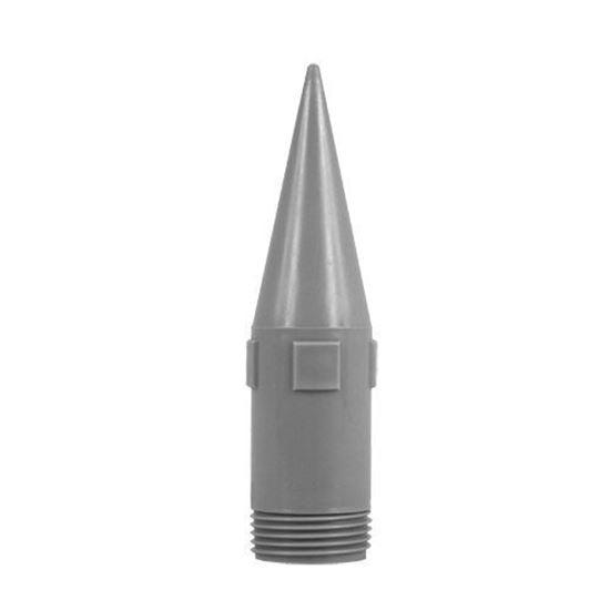 Toebehoren voor 400/580 ml-alu-foliezakken OTTO Spuitmond MK 5 grijs